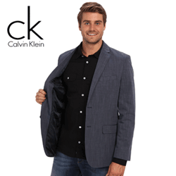 Calvin Klein YD Slub Chambray Pickstitch