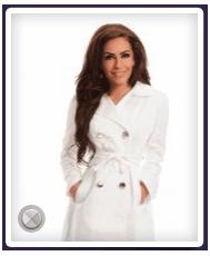 Trench LaDonna Stately Fashion White. Trench LaDonna, confectionat dintr-un material fin, placut in contact cu pielea si cu o tesatura deasa, perfecta pentru a te proteja de vant.