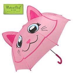 Umbrela roz Pink Kitty pentru fetite Western Chief Kids