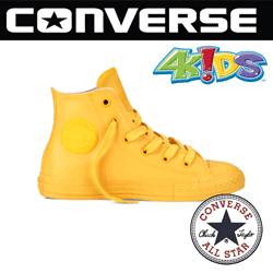 Bascheti copii Converse Chuck Taylor All Star Rubber de culoare galbena