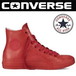 Bascheti de ploaie Converse All Star Rubber din cauciuc de culoare rosie