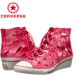 Bascheti cu Platforme Converse All Star Hi-Ness Cutout