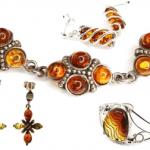 Cadouri selecte - Bijuterii cu pietre semipretioase Chihlimbar natural