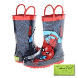 Cizme de ploaie Spiderman pentru baieti