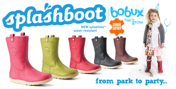 Cizmele din piele impermeabile Bobux Splash Boots pentru copii