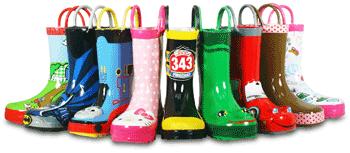 Cizme de ploaie pentru copii Western Chief Kids cu personaje din desene animate