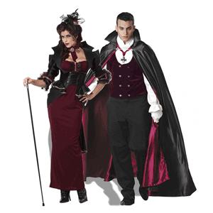 Costum tematic de Vampir pentru barbati ideal pentru Halloween