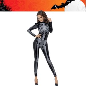 Salopeta schelet cu fermoar la spate