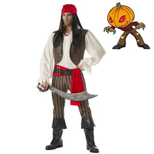 Costum tematic de pirat pentru barbati
