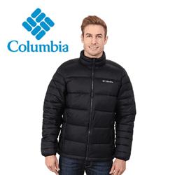 Geaca barbati Columbia Frost Fighter. O geaca de iarna de culoare neagra.