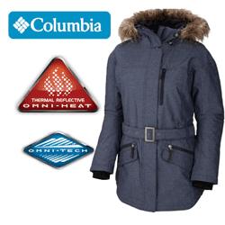 Geaca de iarna ideala pe ger pentru femei Columbia Carson Pass WL4117-419