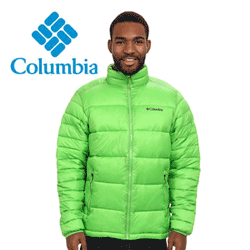Geaca de iarna barbateasca Columbia Frost Fighter Cyber Green
