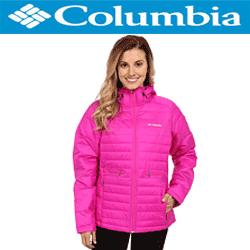 Geaca iarna Columbia Powder Pillow Jacket de dama, culoare roz, reduceri de preturi la my closet