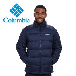 Geaca Columbia Frost Fighter Jacket pentru barbati. O geaca de iarna de culoare navy - indigo