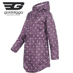 Pelerina de ploaie Golddigga Raincoat Ladies