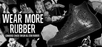 Bascheti Converse Chuck Taylor All Star Rubber de ploaie