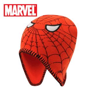 Caciulita pe urechi Spiderman Marvel pentru baieti