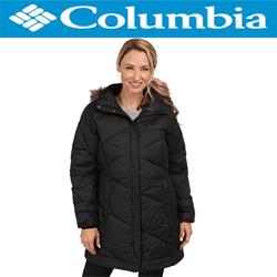 Geaca dama Columbia Snow Eclipse Mid Jacket de culoare neagra