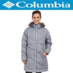 Geaca dama Columbia Snow Eclipse de culoare gri