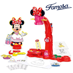 Jucarie Proiector Dress Your Minnie Mouse Jucarie Famosa