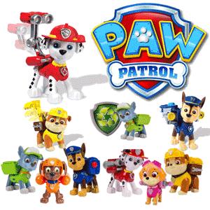 Jucarii si figurine din desenele animate Paw Patrol in oferta de jucarii