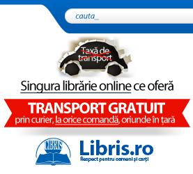 Transport gratuit la comenzi pe internet de carti si rechizite de la Libris