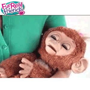 FurReal Friends - Maimutica Cuddles My Giggly