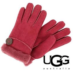 Manusi dama UGG New Bailey Glove din piele naturala si blanita
