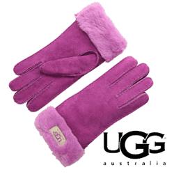 Manusi piele roz UGG Classic Turn Cuff Glove pentru femei elegante