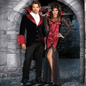 Costumatie de Halloween barbateasca - Costum de Vampir