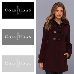 Paltoane din lana de dama Cole Haan Wool Plush Hooded Toggle Coat