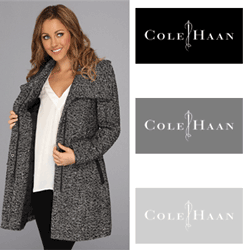 Paltoane si jachete din lana Cole Haan Novelty Twill Wool Coat pentru femei