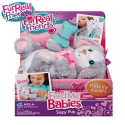 Jucarii FurReal Friends - Feed Me Babies - Animalute asortate - Jucarii Interactive la BestKids