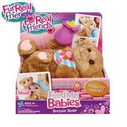 Jucarii FurReal Friends - Feed Me Babies - Animalute asortate, jucarii interactive Hasbro la BestKids