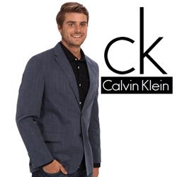 Sacou barbatesc Calvin Klein D Slub Chambray Pickstitch Jacket