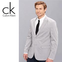 Sacouri elegante pentru barbati CK Calvin Klein Yarn-Dyed Glen Check Tech Poplin Blazer