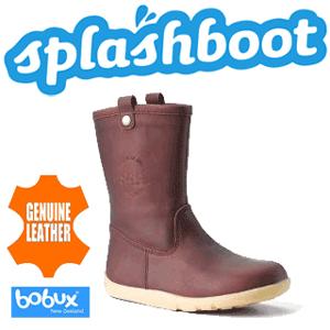 Cizmele Splash Bobux impermeabile si calduroase din piele naturala pentru copii mici