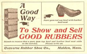 1917 Converse Rubber Shoe Company
