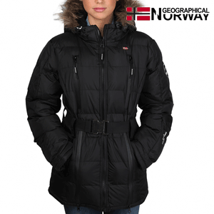 Geaca Geographical Norway Archipel impermeabila neagra