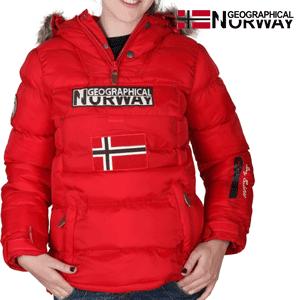 Geaca Geographical Norway captusita, rosie