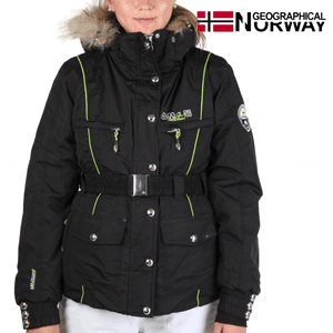 Geaca Geographical Norway Valentine neagra