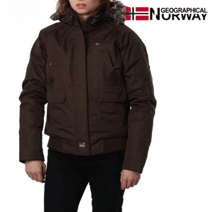 Geaca Geographical Norway CHANA captusita, maro inchis