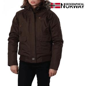 Geaca Geographical Norway CHANA captusita, maro inchis
