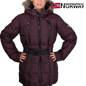 Geaca Geographical Norway Archipel impermeabila violet