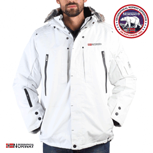 Geaca Geographical Norway Cluses alba