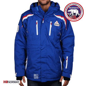 Geaca de ski Geographical Norway Wesc albastru royal