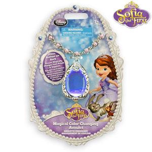 Jucarii Printesa Sofia Intai Amuleta Magica a Sofiei ce isi schimba culoarea la eMAG