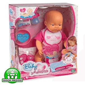 Papusa Cicciobello bebelus Baby Amore Pipi Popo