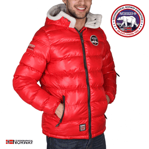Geaca Geographical Norway Challenger captusita, rosie