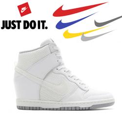 Platforme Nike Dunk Sky Hi Essential 644877-100